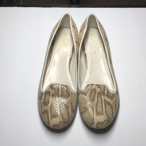 Cole Haan Nike Air snakeskin print flats size 8.5